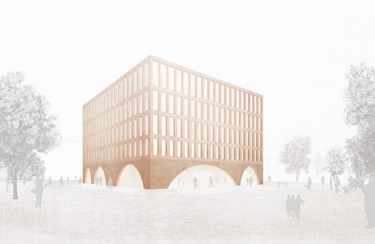 KO-OK_Architektur_Leipzig_Stuttgart_Wettbewerb_Rathaus-Salem_Perspektive